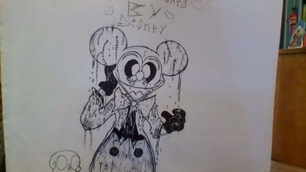 Wanna see my head come off by CreepypastaMouse1971