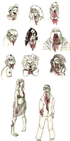 zombies by Leamlu