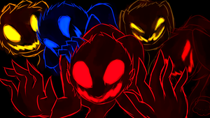 {ANIMATION} FNATP: Scary Monsters and Nice Sprites by SwiftKhaos