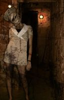 Silent Hill Nurse Final by strengthandbones