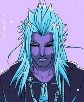 Palette warm-up Ft. Xemnas (II) by lerato