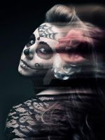 Day of the Dead Makeup by Kan3xO