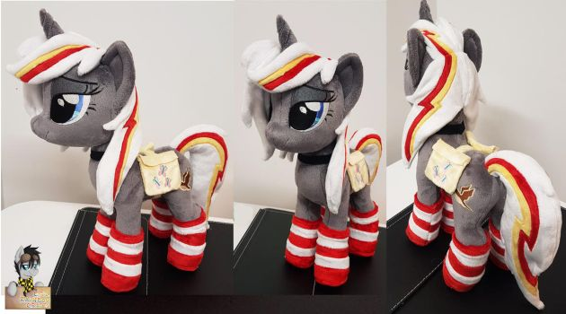 Velvet Remedy plushie fallout Equestria by Epicrainbowcrafts