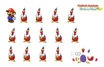 Fidgit the Pidgit (Paper Mario Sticker Star Recut) by DerekminyA