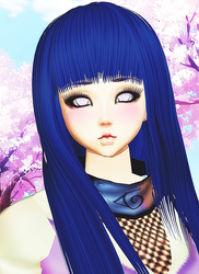 Hinata IMVU version by Christerva