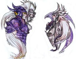 SS Harpy and Wyvern by Daswhox
