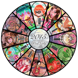 Summary of Art 2015 by IcedNaly