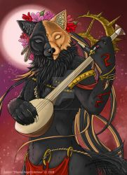 Nahimana, The Song of the Night by InsaneAngelArt