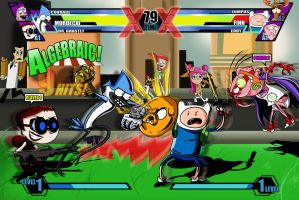 Cartoon Network Fusion Fight (UMVC3 spoof) by xeternalflamebryx