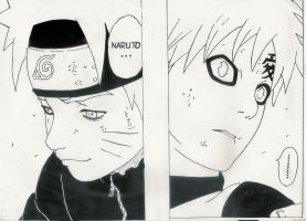 Naruto Panel (finished) by karentje123