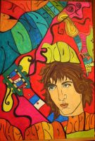 Psychedelic Pete Townshend by modastrid