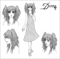 :: Doreen character sheet :: by Lady-Liara