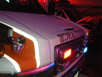 606 grille lights by Huskymedic