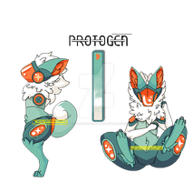 Protogen Adopt Auction 6: CLOSED by NejiShadowAdopts