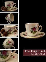 Tea Cup Pack by ALP-Stock