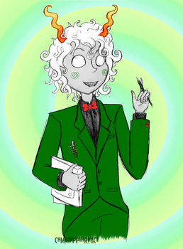 Homestuck: Calliope! by CameoAppearance