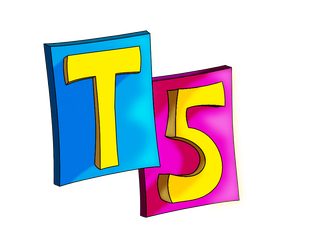 T5 Comix Logo-WIP (vers #2) by TheUnisonReturns