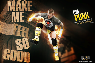 Cm Punk Wallpaper by workoutf