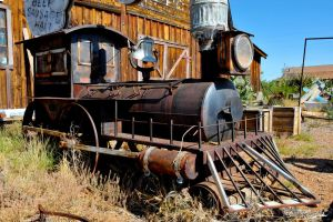 Locomotive BBQ smoker by lawout16