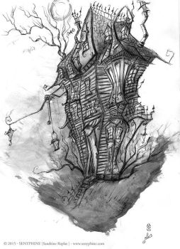 Twisted house by senyphine