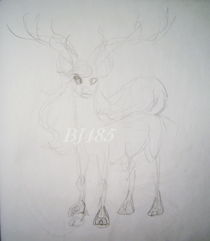 Maned Doe by BillieJean485