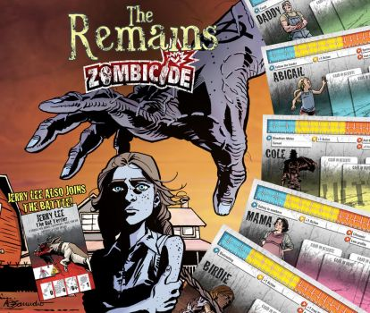 The Remains Zombicide Survivor Pack by ink-imp