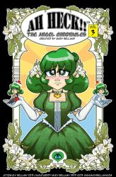 Ah Heck!! The Angel Chronicles V3 Cover by MaryBellamy