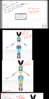 MMD Tutorial Stop the model from crashing MMD by MMD3DCGParts