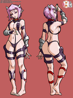 Nana Ruginni slave outfit by RankerHen