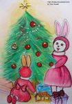 The final preparations for Christmas by Tosita