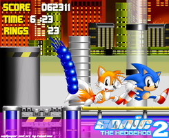 Sonic the Hedgehog 2 Wallpaper by TokeiTime
