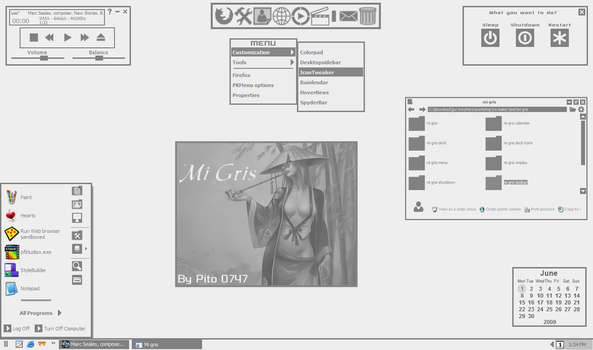 Mi Gris for XP by pito0747