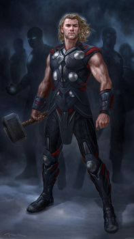 The Avengers- Thor 02 by andyparkart