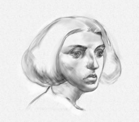 Head Study by grenader1