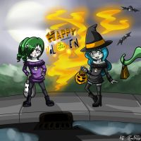 Happy (Belated) Halloween! by AbsolutePineapple