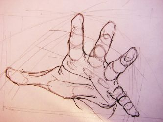 Study of a hand 3 by MayaApostoloska