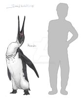 The giant penguin by Gredinia