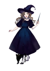 Witch by jurithedreamer