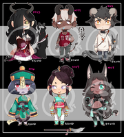 [Adopts] Minis VIII || USD || Closed by Clover1