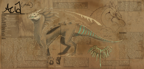 Acid's Ref Sheet by Xainra
