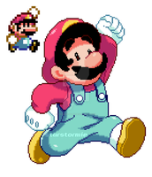 super mario redraw! by origami-guru