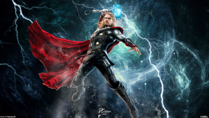 Thor Avengers Age Of Ultron by Davian-Art