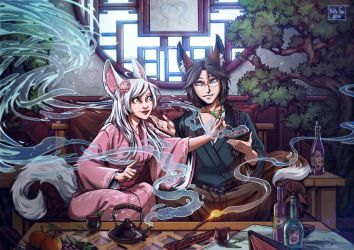 Tea Ceremony by Kate-FoX
