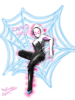 Spider-Gwen by TheBurningSpirit
