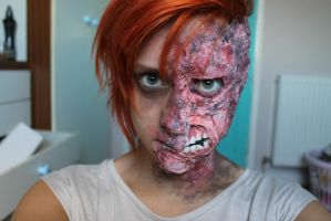 Two face 02 by Amythealien
