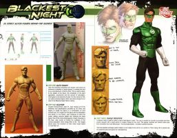 Making of Blackest Night Green Lantern article by BLACKPLAGUE1348