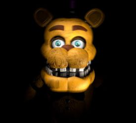 Fredbear Jumpscare by nightmarefoxypirate0