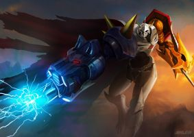 omnimon by unded