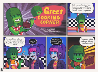 Gree's Cooking Corner P.1 by Wazzaldorp