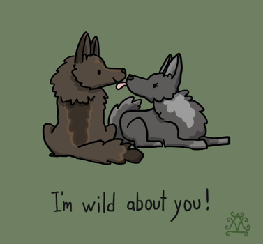 Wild by DrawsWithPaws